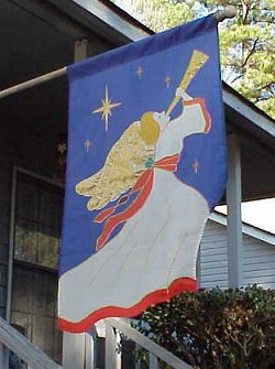Herald angel flag