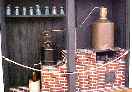 actual moonshine still
